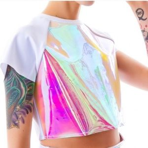 UNIF holographic spacer top